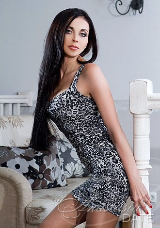 Ukrainian Woman Model Alina From Kiev 32 Yo Hair Color Brown